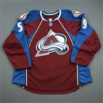 Donnelly, Dillon<br>Burgundy Set 1 - Game-Issued (GI)<br>Colorado Avalanche 2013-14<br>#59 Size: 58