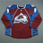 Duchene, Matt<br>Burgundy Set 2<br>Colorado Avalanche 2013-14<br>#9 Size: 56