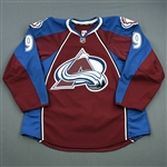 Duchene, Matt<br>Burgundy Set 3 / Playoffs<br>Colorado Avalanche 2013-14<br>#9 Size: 56
