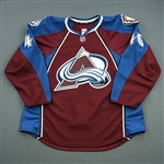 Elliott, Stefan<br>Burgundy Set 2 - Game-Issued (GI)<br>Colorado Avalanche 2013-14<br>#46 Size: 56