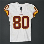 Crowder, Jamison<br>White - worn October 9, 2016 vs. Baltimore Ravens<br>Washington Redskins 2016<br>#80 Size: 38 SKILL