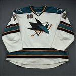 Winchester, Brad * <br>White<br>San Jose Sharks 2011-12<br>#10 Size: 58+
