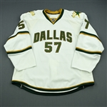 Boutet, Etienne<br>White Set 1 - Training Camp Only<br>Dallas Stars 2010-11<br>#57 Size: 56