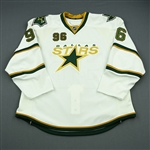Brunnstrom, Fabian<br>Third Set 1 - Game-Issued (GI)<br>Dallas Stars 2010-11<br>#96 Size: 58