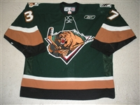 Craig, Matt<br>Green Set 1<br>Utah Grizzlies 2008-09<br>#37 Size: 54