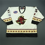 Brookwell, Cody<br>White Set 1 (A removed)<br>Gwinnett Gladiators 2012-13<br>#25 Size: 58