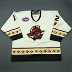 Galiardi, Rylan<br>White Set 1<br>Gwinnett Gladiators 2012-13<br>#12 Size: 56