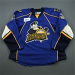 Peluso, Anthony * <br>Blue<br>Peoria Rivermen 2011-12<br>#23 Size: 58