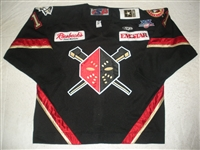 Patrick, Curtiss<br>Black Set 1<br>Wheeling Nailers 2007-08<br>#11 Size: 56