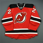 Barch, Krystofer<br>Red Set 1<br>New Jersey Devils 2012-13<br>#22 Size: 58