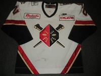 Holm, Tobias<br>White Set 1<br>Wheeling Nailers 2008-09<br>#20 Size: 56