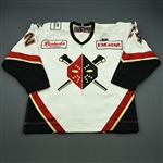 Reid, Elgin<br>White Set 1<br>Wheeling Nailers 2008-09<br>#24 Size: 56