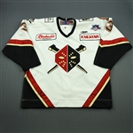 Young, Seamus<br>White Set 1<br>Wheeling Nailers 2007-08<br>#3 Size: 56