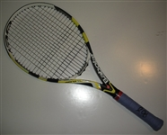 Querrey, Sam<br>Babolat Racquet, Match-Used, Mens Singles Second Round, Autographed<br>US Open 2012<br>