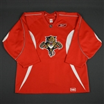 Reebok<br>Red Practice Jersey<br>Florida Panthers 2005-06<br>Size: 56
