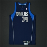 Harris, Devin * <br>Navy Set 1  - Photo-Matched to 6 Games<br>Dallas Mavericks 2007-08<br>#34 Size: 48 + 2