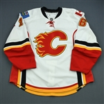 Kostopoulos, Tom<br>White Set 3<br>Calgary Flames 2010-11<br>#16 Size: 56