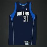 Terry, Jason * <br>Navy Set 2 - Photo-Matched to 6 Games<br>Dallas Mavericks 2007-08<br>#31 Size: 48 + 2