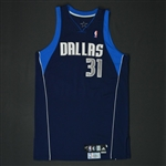 Terry, Jason * <br>Navy Playoffs - Photo-Matched to 6 Games<br>Dallas Mavericks 2008-09<br>#2 Size: 48 + 2