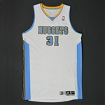 Nené * <br>White Regular Season - Photo-Matched to 16 Games<br>Denver Nuggets 2010-11<br>#31 Size: XXL
