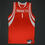 Ariza, Trevor * <br>Red Regular Season - Photo-Matched to 3 Games<br>Houston Rockets 2009-10<br>#1 Size: 50