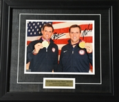 The Bryan Brothers<br>Framed - Autographed 8x10<br>USTA 2012<br>Size:17.5 in H x 15.25 in W