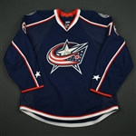 Beauvillier, Francis<br>Blue Set 1 - Game-Issued (GI)<br>Columbus Blue Jackets 2016-17<br>#76 Size: 56
