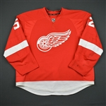 Ericsson, Jonathan * <br>Red Set 1 -  Photo-Matched<br>Detroit Red Wings 2014-15<br>#52 Size: 58