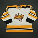 Courchesne, Pierre-Luc * <br>White<br>Johnstown Chiefs 2004-05<br>#28 Size: 56