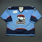 Urquhart, David<br>Blue Set 1<br>Charlotte Checkers 2008-09<br>#12 Size: 56