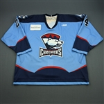 Zaborsky, Tomas<br>Blue Set 1<br>Charlotte Checkers 2008-09<br>#24 Size: 58