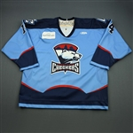 Zappala, Joe<br>Blue Set 1<br>Charlotte Checkers 2008-09<br>#14 Size: 56