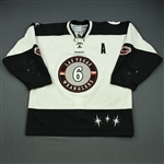 Goers, Barry<br>White Set 1 w/A<br>Las Vegas Wranglers 2011-12<br>#6 Size: 54