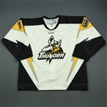 Fratkin, Jesse<br>White Set 1<br>Stockton Thunder 2011-12<br>#13 Size: 54
