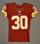 Biggers, E.J.<br>Burgundy Regular Season<br>Washington Redskins 2014<br>#30 Size: 40 SKILL