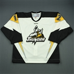 Levesque, Gabriel<br>White Set 1<br>Stockton Thunder 2011-12<br>#12 Size: 52