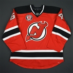 Blandisi, Joseph<br>Red - Martin Brodeur Night 2/9/16 (Periods 2 & 3)<br>New Jersey Devils 2015-16<br>#64 Size: 56