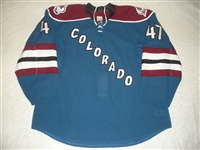Brophey, Evan<br>Third Set 1 - Game-Issued (GI)<br>Colorado Avalanche 2011-12<br>#47 Size: 58