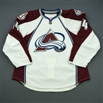 Carman, Mike<br>White Set 1 - Game-Issued (GI)<br>Colorado Avalanche 2011-12<br>#14 Size: 56