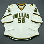 Benn, Jordie<br>White Set 1<br>Dallas Stars 2011-12<br>#58 Size: 58