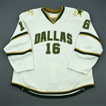 Burish, Adam<br>White Set 1<br>Dallas Stars 2011-12<br>#16 Size: 58