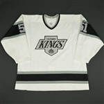 Lindholm, Mikael * <br>White<br>Los Angeles Kings 1989-90<br>#51 Size: 52