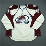 Cohen, Colby<br>White Set 1<br>Colorado Avalanche 2010-11<br>#36 Size: 58