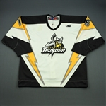 Foreman, Jordan<br>White Set 1<br>Stockton Thunder 2010-11<br>#16 Size: 54