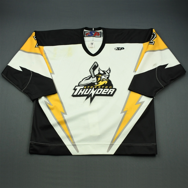 Ryan, Chase<br>White Set 1<br>Stockton Thunder 2010-11<br>#2 Size: 56