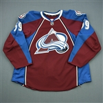 Donnelly, Dillon<br>Burgundy Set 1 - Training Camp Only<br>Colorado Avalanche 2011-12<br>#59 Size: 58