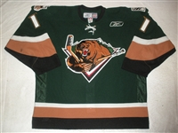 Gergen, Michael<br>Green Set 1<br>Utah Grizzlies 2010-11<br>#11 Size: 56