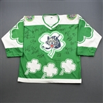 Chicago Wolves<br>St. Patricks Day - Autographed<br>Chicago Wolves 1997-98<br>#NA Size: XL