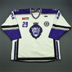 Jackson, Dallas<br>White Set 1 w/ 10th Anniversary Patch<br>Reading Royals 2010-11<br>#29 Size: 56
