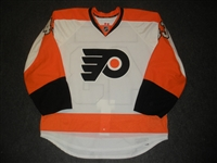 Bourdon, Marc-Andre<br>White Set 1 - Game-Issued (GI)<br>Philadelphia Flyers 2012-13<br>#43 Size: 56